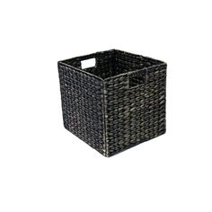 Clever Cube 330 x 330 x 360mm Stained Water Hyacinth Natural Insert