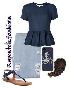 """""""Apostolic Fashions #1714"""" by apostolicfashions on Polyvore featuring IRO, Veronica Beard, SONOMA Goods for Life and Casetify"""