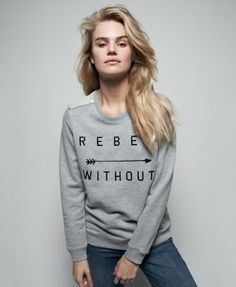 @zoekarssen sweater - rebel without #fw16 #fashion #grey #sweater
