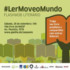 Junto com outras 12 cidades sul-americanas, São Paulo participa do flashmob literário #LerMoveOMundo neste domingo (27/9), às 14h, no vão do Masp...