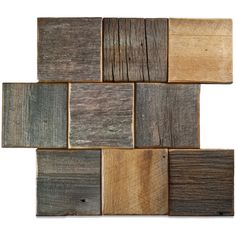 Reclaimed Barn Wood Tiles and Planks Wood Wall Tiles, Barn Wood Projects, Tiles Online, Reclaimed Barn Wood, 4x4, Brick, Mosaic, The Incredibles, Texture