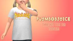 Thrasher Tees - PLUMBOBJUICE