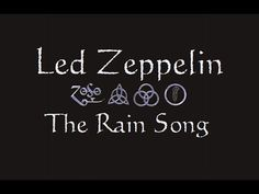 Image result for Led Zeppelin  pictures  the rain song