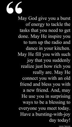May God...