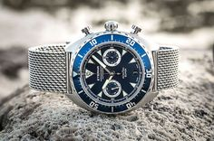 "Eterna Super KonTiki Chronograph ""Blue"" 