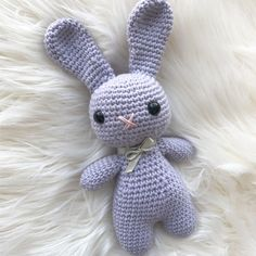 Easter Bunny Crochet Pattern – ZoeCreates