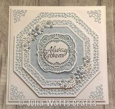 Expensive Wedding Gifts For Groom Wedding Day Cards, Wedding Cards Handmade, Wedding Gifts For Groom, Wedding Anniversary Cards, Anniversary Ideas, Handmade Cards, Sue Wilson, Birthday Cards For Women, Birthday Gifts For Sister