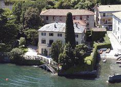 George Clooney's Villa on Lake Como, Italy