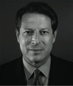 Al Gore, 2009 by Chuck Close  Art Experience NYC  www.artexperiencenyc.com