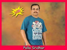Palla Sridhar from Palla Reviews Lob, Blogging, Marketing, Mens Tops, Track