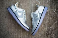 Nike Air Force 1 Downtown Metallic Silver