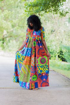 MAXI GOWNS Upstage today is our selection of beautiful Maxi dresses. If you scroll down you will see different Maxi gowns, these designs Ankara Maxi Dress, African Maxi Dresses, African Attire, African Wear, African Women, African Inspired Fashion, African Print Fashion, Africa Fashion, Ankara Fashion