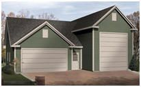 1000 images about garage plans building kits on for One car garage kit with loft