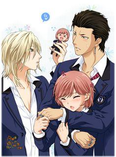 Tokimeki Memorial Girl's Side 3rd Story- Sakurai Ruka , Sakurai Koichi & Banbi