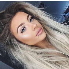 Make Hair Lighter, Purple Shampoo For Blondes, Best Human Hair Wigs, 100 Human Hair, Tumbrl Girls, Blonde Lace Front Wigs, Brown Blonde Hair, Blonde With Dark Roots, Blonde Wig