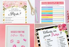 Planning a bachelorette party or bridal shower? We share 10 of the best free printables and digital downloads for easy bachelorette party fun and games.