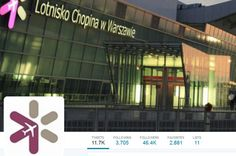 """According to analysis website Sotrender, Warsaw Chopin Airport is one of the most popular and active Polish brands on Twitter. The airport also leads in the """"Travel and Places"""" category."""