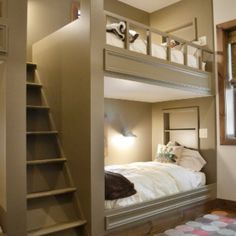 loft beds diy   Bunk bed, THIS WOULD WORK IF OUR DIMENSIONS ARE RIGHT