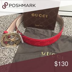 Gucci belt Men's , authentic , all sizes ! Gucci Accessories Belts