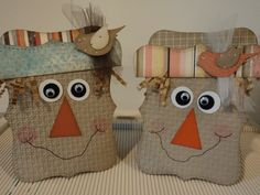 Scarecrows for Fall by candee porter - Cards and Paper Crafts at Splitcoaststampers