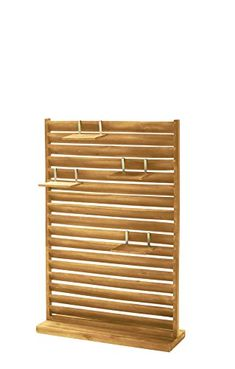 Garden privacy screen, free standing, wood, 80 x 28 x 120 cm Bamboo Screening, Screening Ideas, Pallet Backdrop, Garden Privacy Screen, Garden Makeover, Photography Tools, Door Design, Small Spaces, Outdoor Living