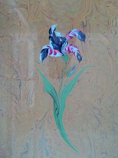 ebru sanatı (marbling art )byMai Hatti