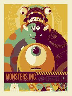 Os incríveis posters vetorizados de Tom Whalen - Choco la Design | Choco la Design | Design é como chocolate, deixa tudo mais gostoso.