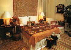 1980 Bedroom | 08/01/2011. Bedroom in warm tones