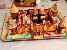 Gâteau d anniversaire château fort