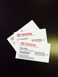 Toyota Spin Card >> 17 Best Business Cards Images In 2016 Business Cards Carte De