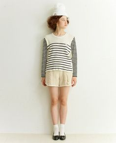 ...who doesn't love a striped sweater sailor look?