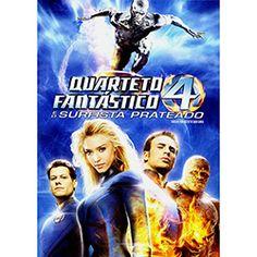 DVD Quarteto Fantástico e o Surfista Prateado - Simples