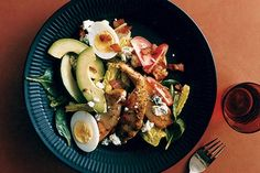 Cobb Salad with Warm Bacon Vinaigrette