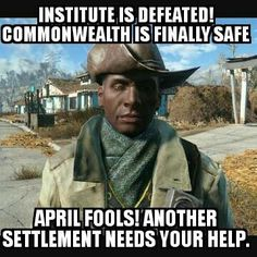 Darn it! fallout 4 preston garvey