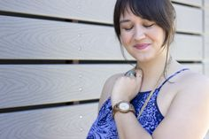 Summer styling tips + $100 giveaway Summer outfits allow for a lot of creativity. I like clothes that have a lot of movement in them, like a fun top or an elegant sundress. I try to find accessories and that can be styled in a couple of different ways, like my JORD watch.