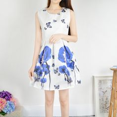New fashion Print Summer Dress ,Fashion Dress,TB-04