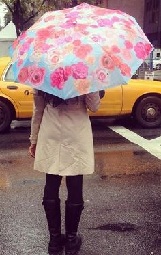 What's the prettiest way to save lives? For every Breast Cancer Floral Print Umbrella sold, $3 will be donated to The Avon Foundation for Women Breast Cancer Crusade. #BCA #AvonRep