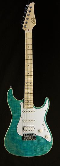 Suhr Pro Series S4 Electric Guitar New in Bahama Blue 360 View | Guitar Hangar