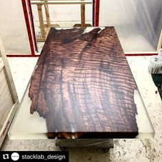 #Repost what a stunner!! Well done @stacklab_design !!! ・・・ Square Cut Burl. Headed to the contemporary furniture gallery at @maisongerard in #NYC #stacklab #carpentry #carpenter #woodwork #joinery #proudcarpenter #proudtobeacarpenter #perfection #topwork #skills #design #wood #tools #festool #bespoke #custom #handmade #chippy #construction #builder #work #proud #furniture #furnituredesign #table #woodshop_warrior