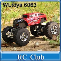 wltoys 6063 mini rc off road racing car 5 speed radio control car childrens electric