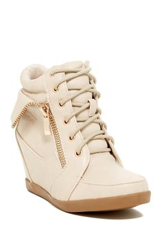 Little wedge booties for your fashionista!