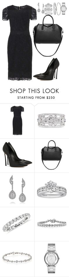 """a"" by madinab ❤ liked on Polyvore featuring Burberry, Vera Wang, Casadei, Givenchy, Mark Broumand, Tiffany & Co., Monique Lhuillier, Kwiat and Marc by Marc Jacobs"