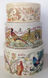 Set 3 Cake Game Birds - Blikken / Tins - Pine-apple - Importeur Emma B