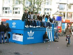Guerilla Adidas ad from the 2006 World Cup