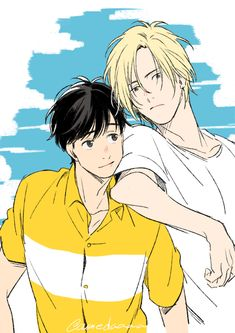 ash and eiji fanart banana fish Manga Anime, Fanarts Anime, Manga Art, Anime Characters, Anime Art, Anime Love, Anime Guys, Fish Wallpaper, Anime Reviews