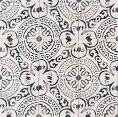 "Kenzzi Paloma 8"" x 8"" Porcelain in White"