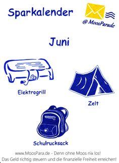 Wann sind welche #Produkte besonders günstig? #Juni - http://www.moospara.de/geld-sparen/sparkalender/
