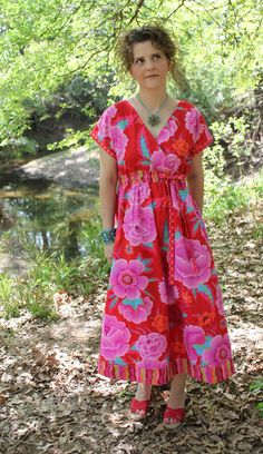 Serendipity Studio Diane Kimono Dress Sewing Pattern