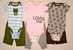 ONESIE EXTENDERS  Add a size to your bodysuits Also by kimeyates, $14.50
