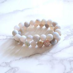 Matte Gray Essential Oil Bracelet ladies jewelry, boho jewelry, jewelry, fashion jewelry, jewelry for ladies, green end designs jewelry